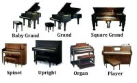 Upright, Organ, Spinet, Small Electric,